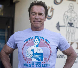 """Come With Me If You Want To Lift"" T-Shirt"