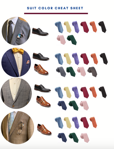 suit color matching guide