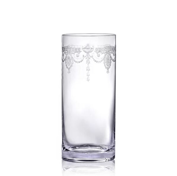 Set of 6 Catherine Tumblers, drinking glasses, clear