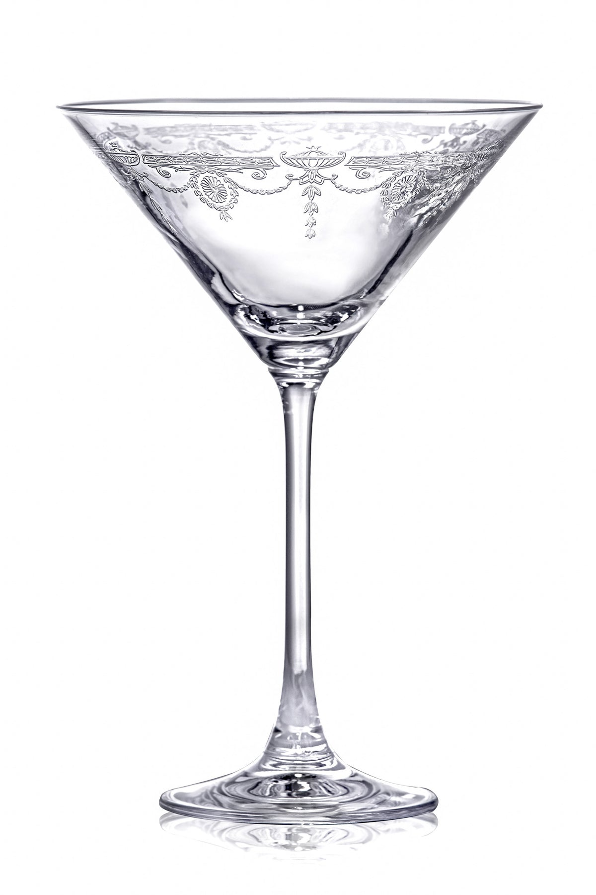 Catherine Martini Cocktail Glasses - Set of 6 Drinking Glasses