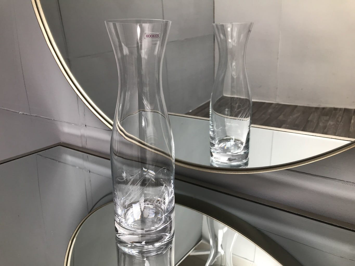 1 litre Water carafe, glass clear