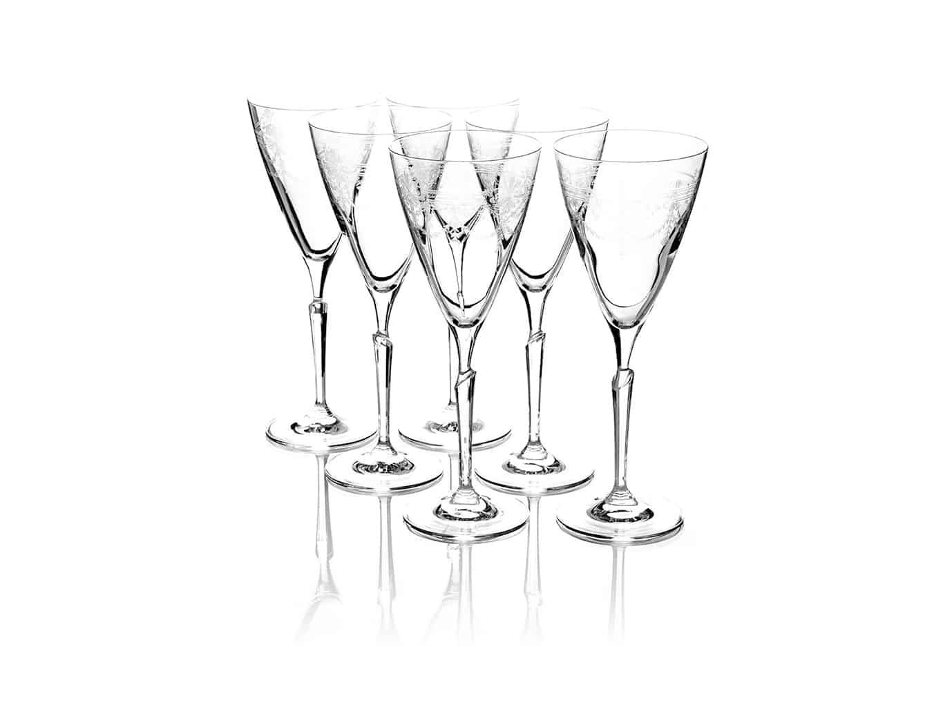First Lady Wine glass clear