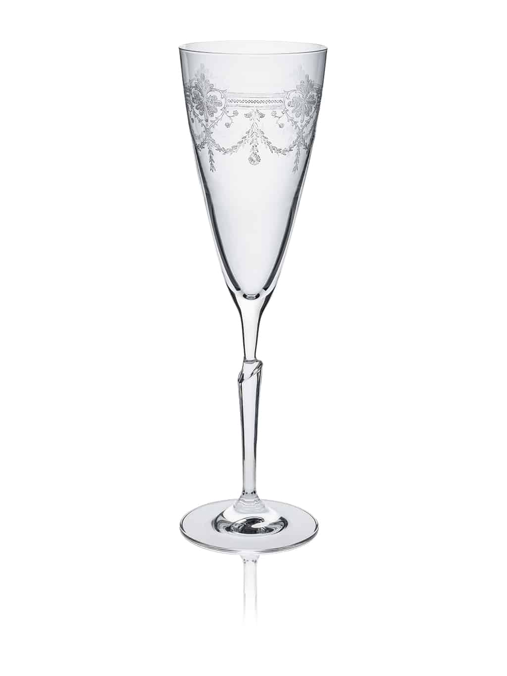 First Lady Flute glass clear