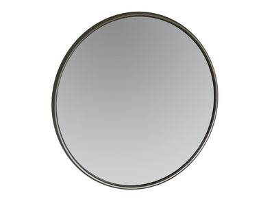 Round Silver Mirror Wall mounted