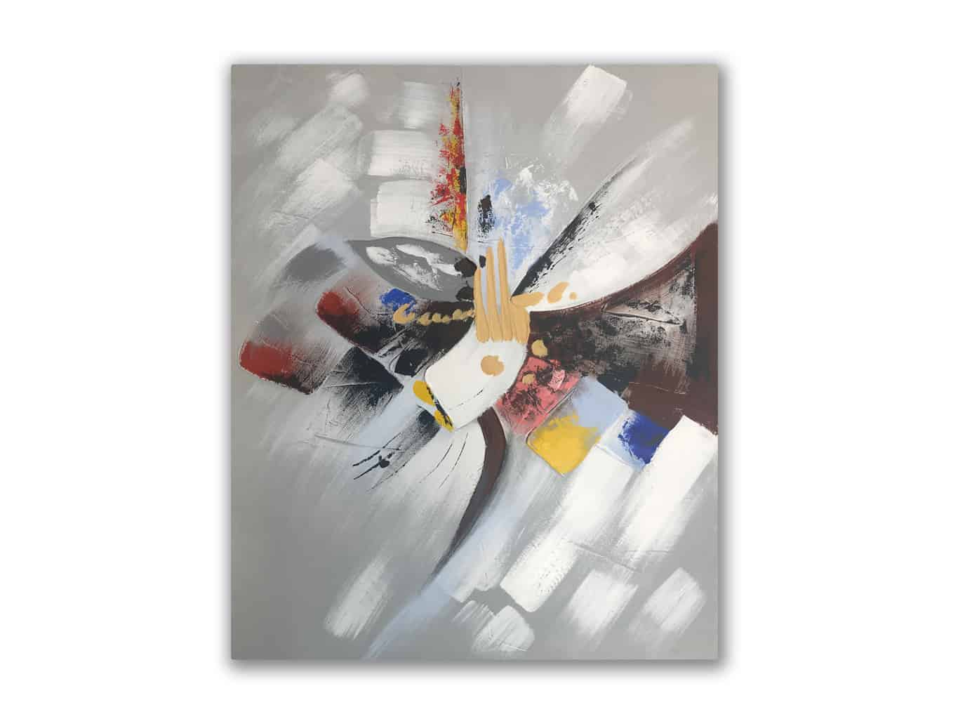 Abstract Painting on Canvas » Wall Art
