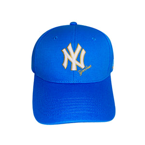 Fall Fitted Cap Blue
