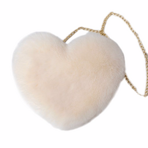 Fur Heart Bag - Version II