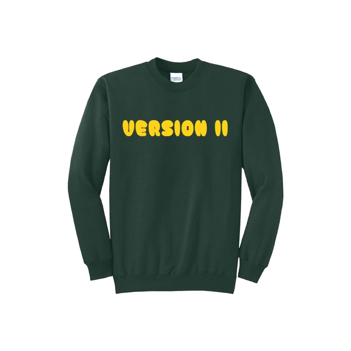 Cloud Crewneck Forest Green