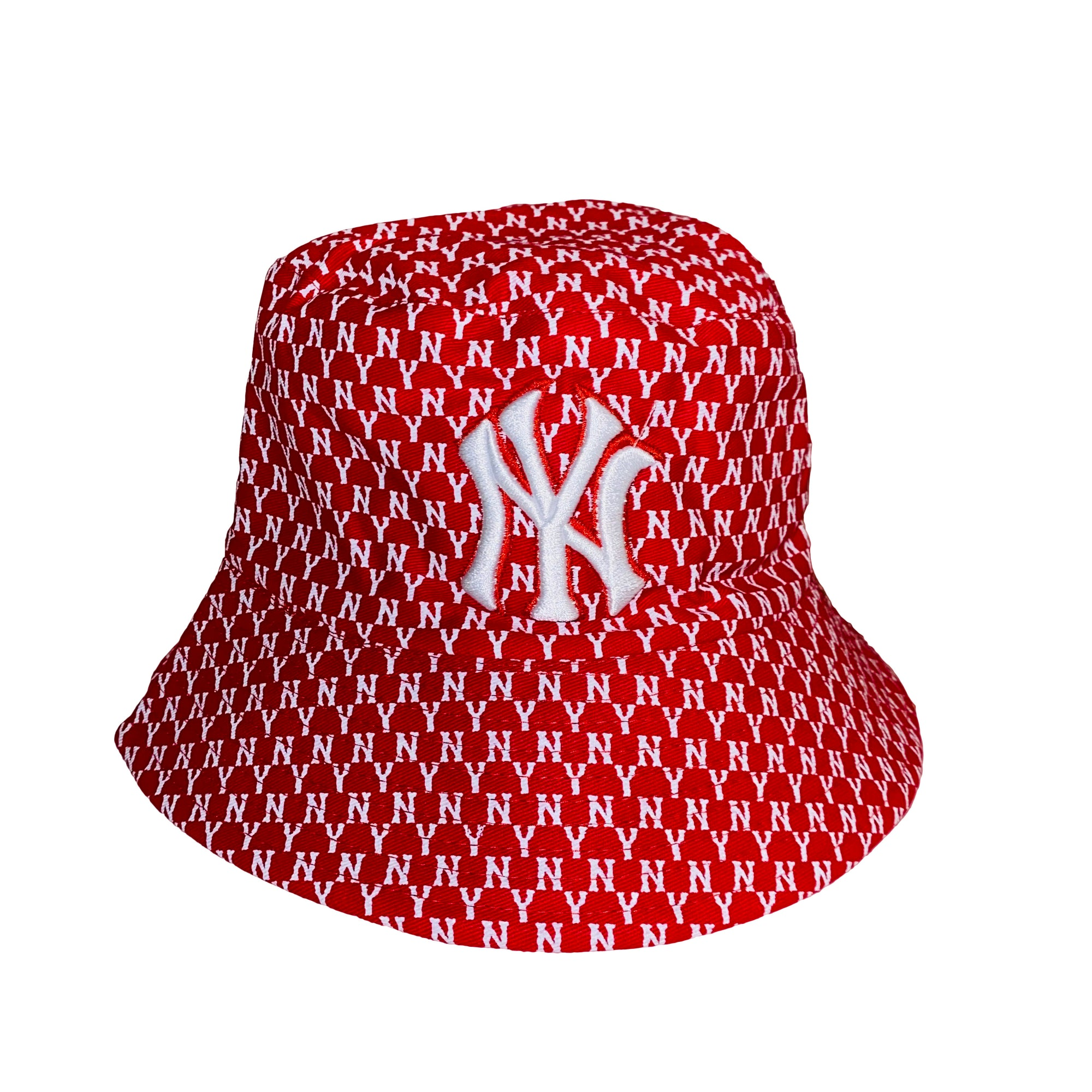 NY Bucket Hat Red