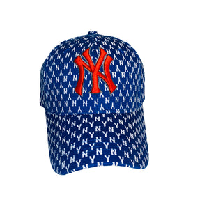 NY Fitted Cap Royal Blue