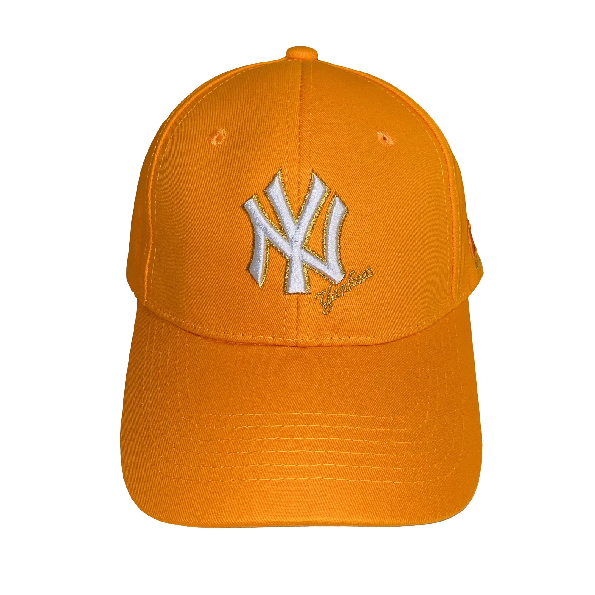 Fall Fitted Cap Orange