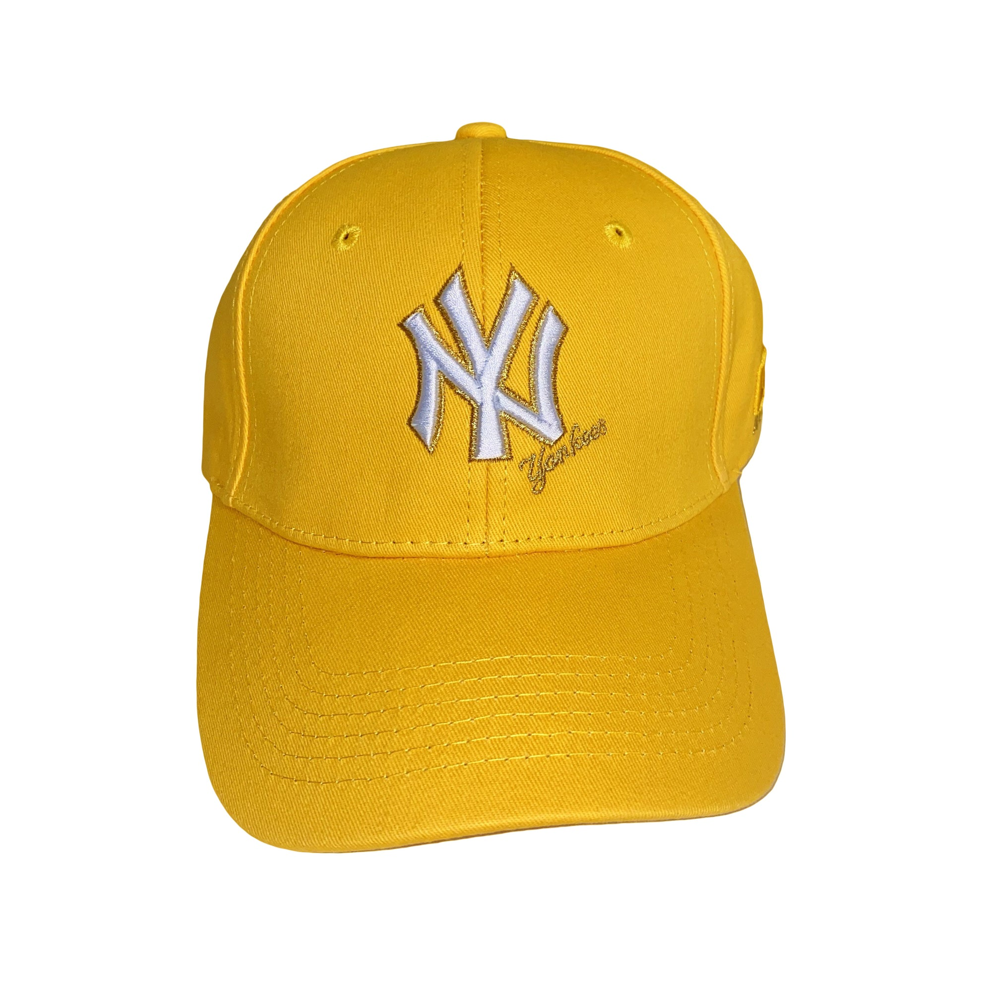Fall Fitted Cap Yellow