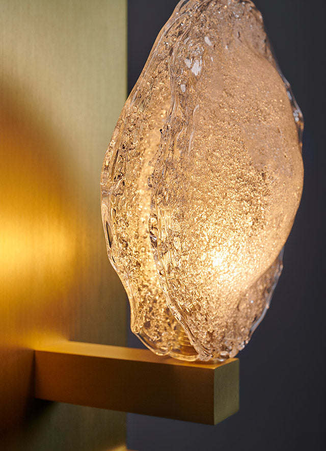 Crystal Shell Luxe Sconce Image