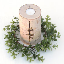 Load image into Gallery viewer, Thankful Birchwood Candle Holder - JV Country Creations
