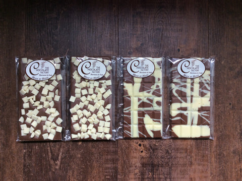 Milk and White Luxury Bars