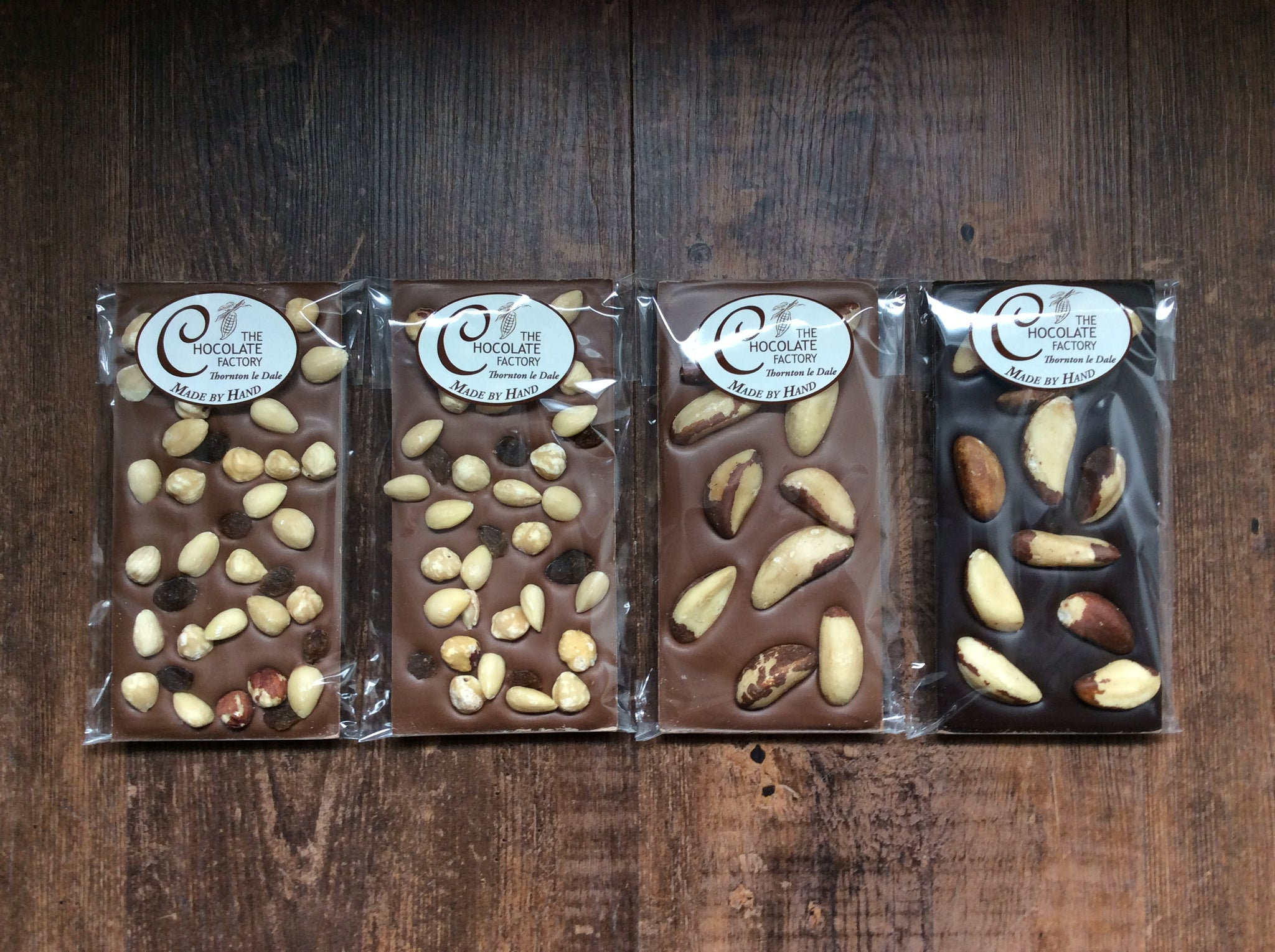Nutty Luxury Bars