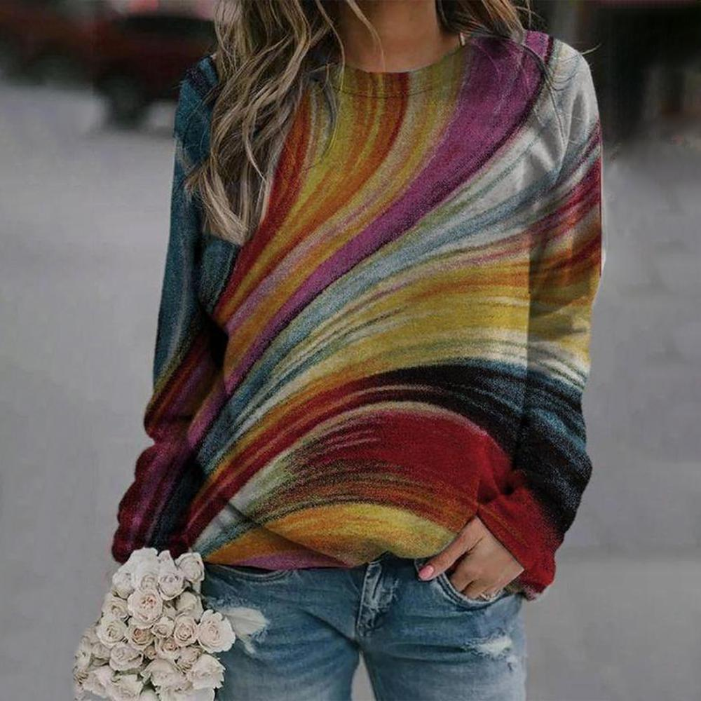 Give them Shade Printed Top-Multicolor-S-