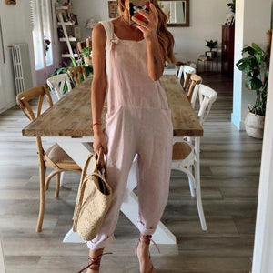 Kickin' it Country Pink Overalls-Pink-S-