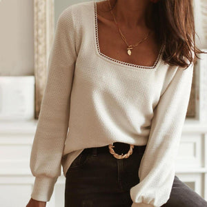 Moment in Time Cream Top-Cream-S-