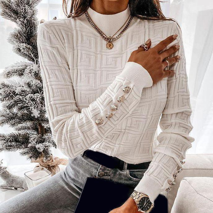 Outside the Box Sweater-White-S-