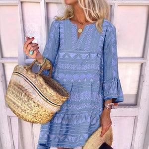 Put it in Print Dress-LAKE_BLUE-S-
