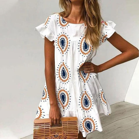 Ready for a Getaway White Dress-White-S-