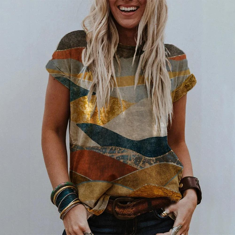 Weekend Plans Printed T-shirt-Multicolor-S-