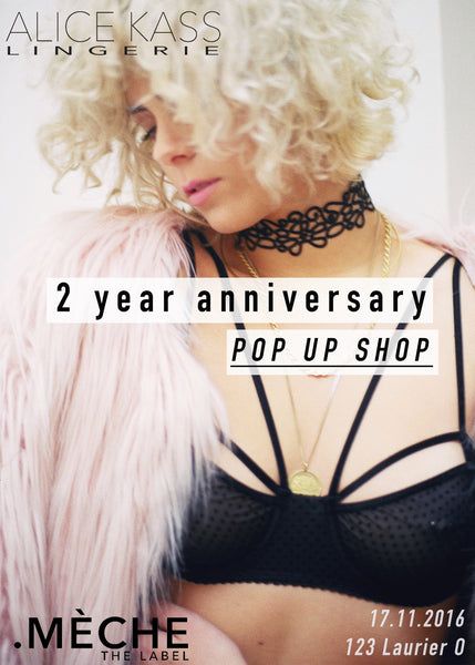 montreal fashion pop up shop
