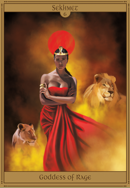 sekhmet goddess of rage