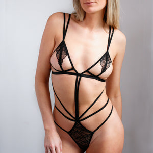 Emerson Strappy Bodysuit