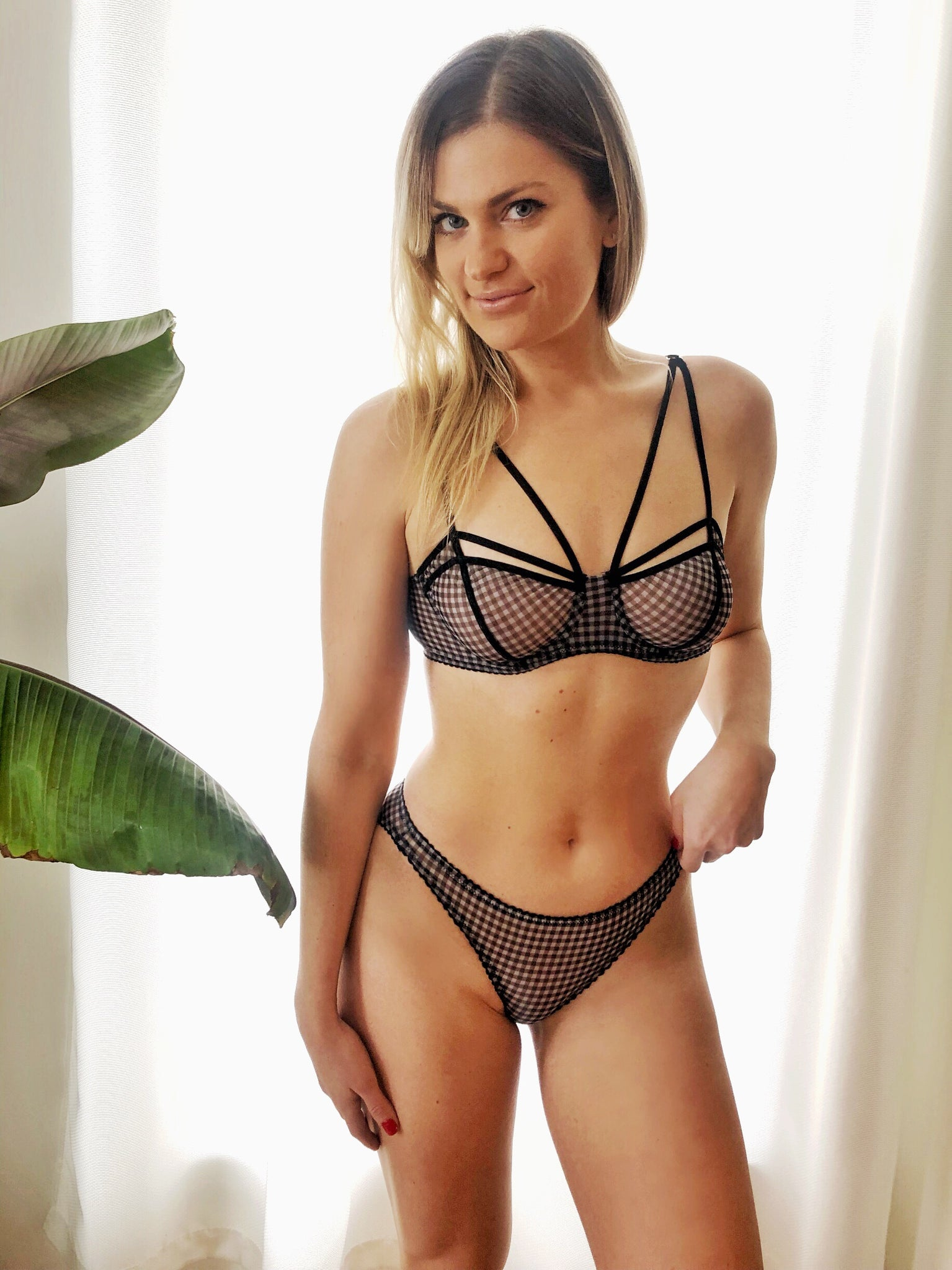 Gigi Bra in Gingham
