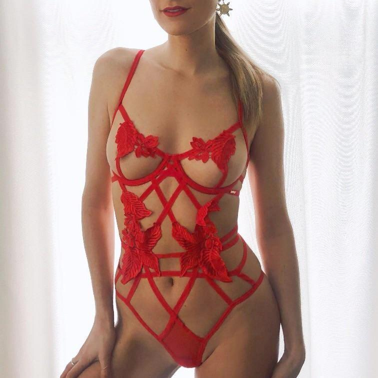 Nikita Bodysuit Red
