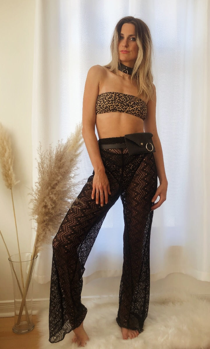 Mayan Spirit Lace Trousers