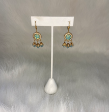 Load image into Gallery viewer, La Vie Round with Drop Earrings (Silver and Gold)
