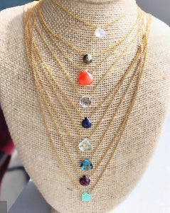 Sonya R Dottie Necklace (Multiple Colors)