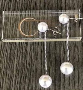 Theia Pearl Drop Dangle Earrings