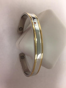 Men's Magnetic Copper Cuff Bracelet.