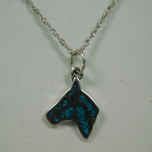 Sterling Silver Turquoise Horse Head SC Necklace