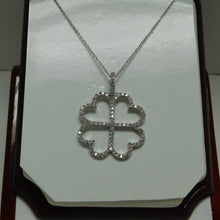 Load image into Gallery viewer, Four Heart Sterling Silver SC Necklace