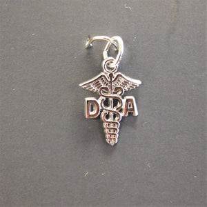 Sterling Silver Dental Assistant Charm