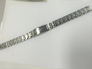 Stainless Steel Men's Identity Bracelet