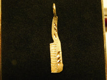 Load image into Gallery viewer, 14K Gold Comb Charm