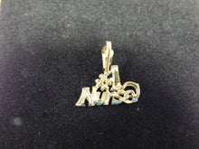 Load image into Gallery viewer, 14K Gold Charm '#1 Nurse'