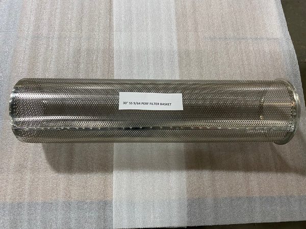 SF 08-30 Stainless Steel Perforated Filter Basket
