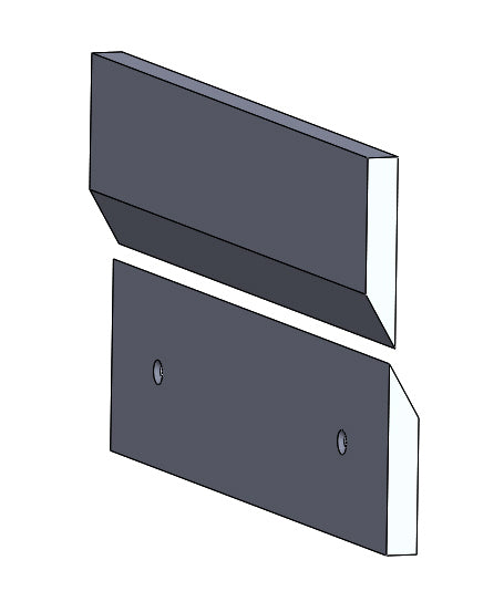 Blind Mounting Cleats