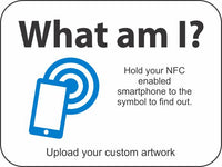 NFC Sign - What am I?