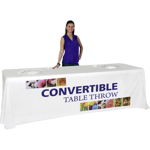 Convertible Premium Dye-Sublimation Table Throw