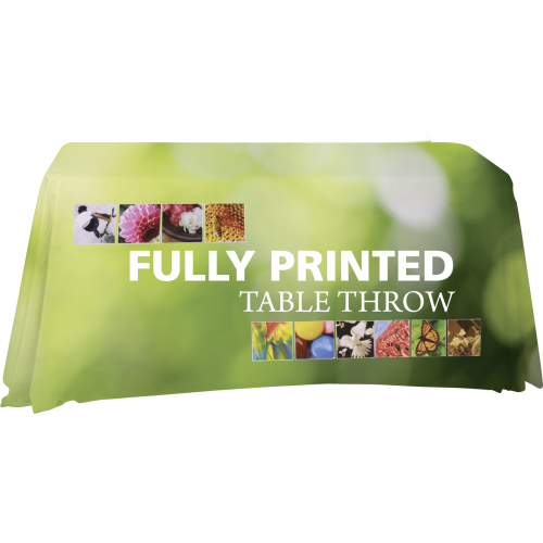 Premium Dye-Sublimation Table Throw