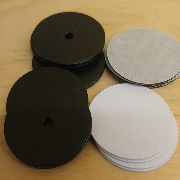 White 30 mm NFC Chip