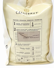 Load image into Gallery viewer, Callebaut W2 White Chocolate Couverture Callets 10 kg